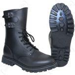 Black French Ranger Boots thumbnail