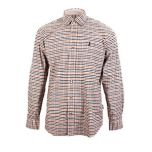 Percussion Beaugency Shirt - Green and Ochre Thumbnail