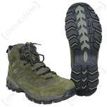 Olive Green Squad Boots 1