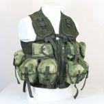 9 Pocket Mil-Tacs FG Camo Tactical Vest Thumbnail