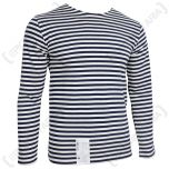 Russian Navy LONG Sleeve Top - NAVY Blue Stripes