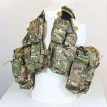12 Pocket Multitarn Camo Tactical Vest Thumbnail