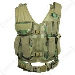 Arid Woodland Camo USMC Tactical Vest