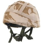 Original British Army Desert DPM Camo Helmet Cover Thumbnail