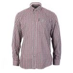 Percussion Normandie Shirt - Red and Black Thumbnail