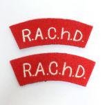 R.A.Ch.D. Shoulder Titles - Misspelling Thumbnail