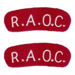 RAOC - Royal Army Ordnance Corps