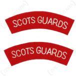 Scots Guards Shoulder Titles - Imperfect