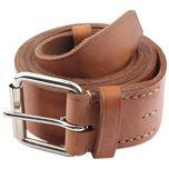 WW2 Russian Cavalry Leather Belt - Brown