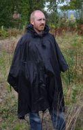Black Ripstop Poncho