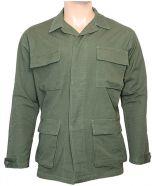 Olive Green Ripstop Field Jacket