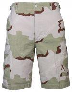 Desert Camo BDU Rip Stop Cargo Shorts