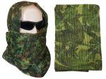 Camouflage Net Scarf - British DPM Woodland
