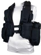 12 Pocket Black Tactical Vest