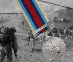 AFGHANISTAN Operational Service Medal with Clasp