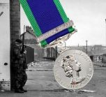 1962 NORTHERN IRELAND General Service Medal with Clasp