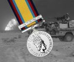 1990-1991 GULF Medal with Jan-Feb Clasp