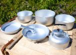 Camping Cooking Kit with Kettle