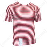 Russian OMAN T-SHIRT - RED Stripes