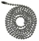 Dog Tag Chain - Stainless Steel - 30 inch