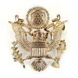US Army Officer Visor Cap Badge Thumbnail