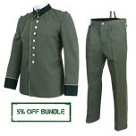WW2 German M35 Waffenrock Officer Uniform Bundle - White Piping Thumbnail
