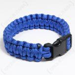 Paracord Wristband - Blue