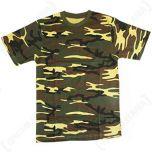 Woodland Camouflage T-shirt Thumb