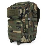 Woodland Camo MOLLE Assault Pack - Large size