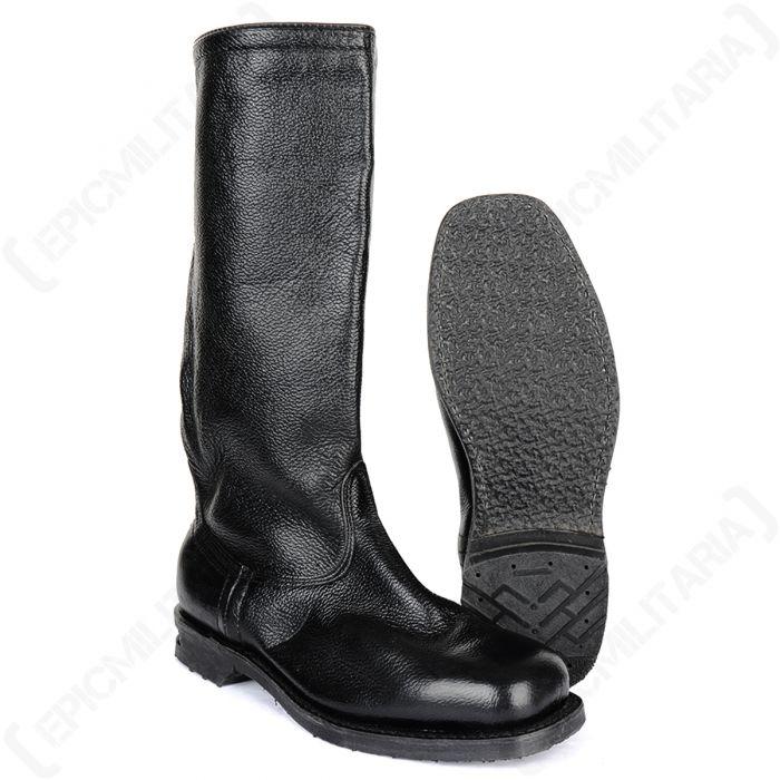 Original Finnish M34 Leather Jackboots