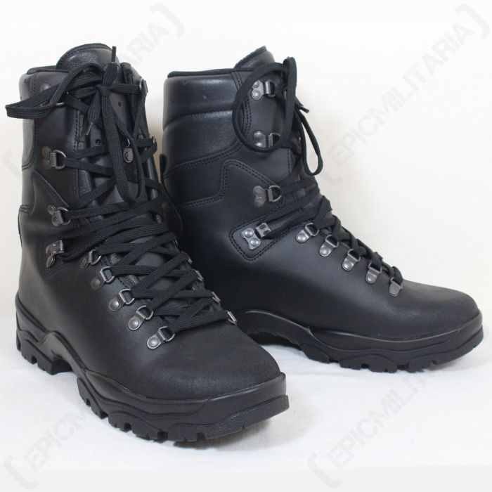 French Army Leather Combat Boots - Epic