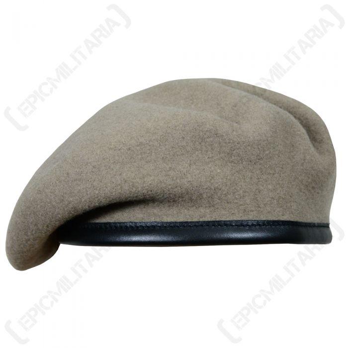 Assorted Genuine British Military Issue Khaki Assorted Regimental Wool Beret