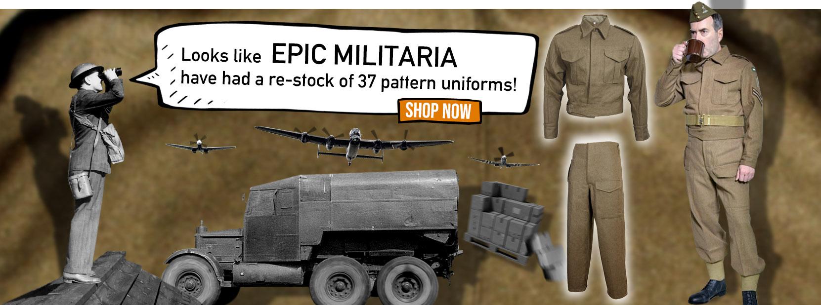 Army & Navy Surplus Epic Militaria