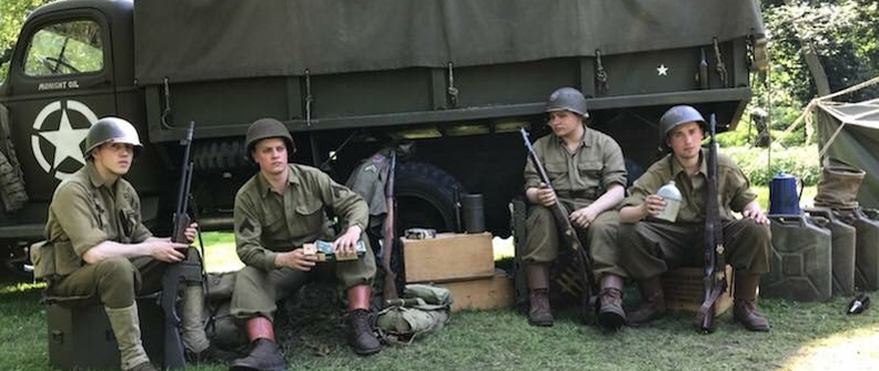 The American Infantry Association (AIA) Living History Group