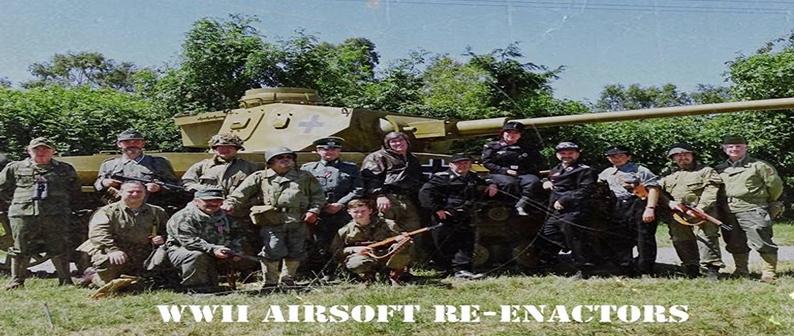 WW2 Airsoft Reenactors