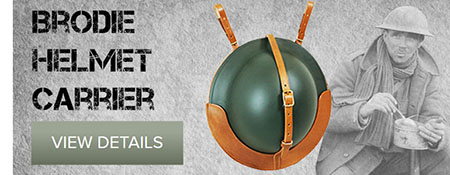 WW2 British Brodie Helmet Carrier