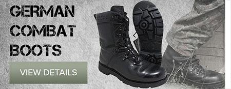 German Combat Boots