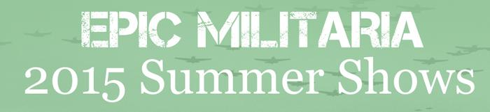 2015 Summer Show Schedule