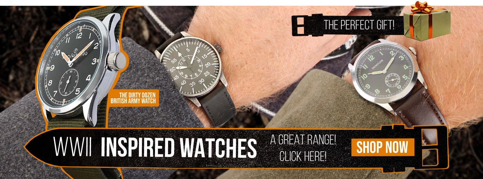Epic Militaria WW2 Inspired Watches