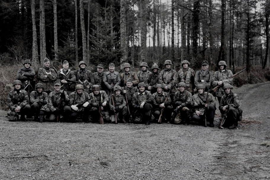 Irish Lads with a passion for WW2 - Battle Group Centre