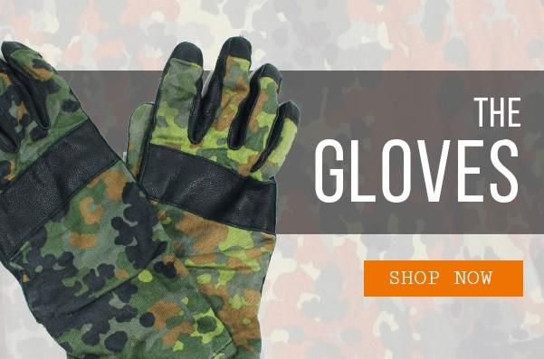 Epic Militaria Flecktarn Gloves