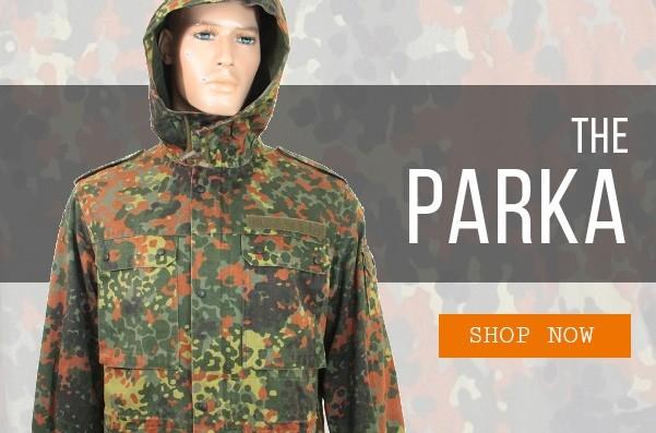 Epic Militaria Flecktarn Parka