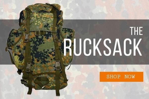 Epic Militaria Flecktarn Rucksack