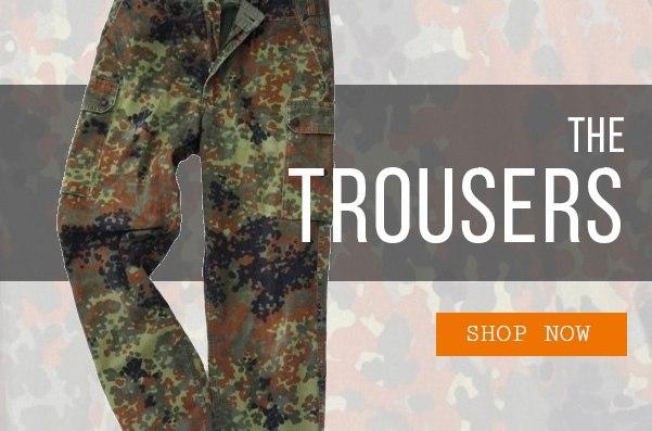 Epic Militaria Flecktarn Trousers