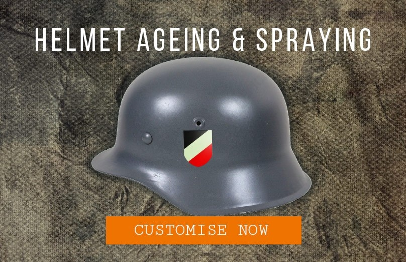Epic Militaria Helmet Ageing & Spraying Services