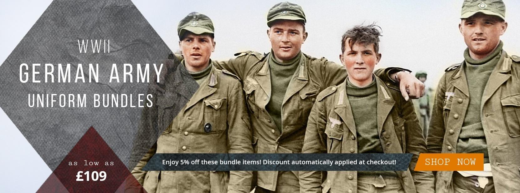 Epic Militaria WW2 German Army Uniforms
