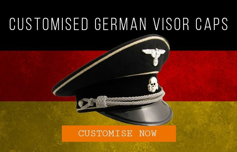 Epic Militaria Customised German Visor Caps
