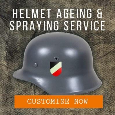 Epic Militaria Helmet Ageing Services