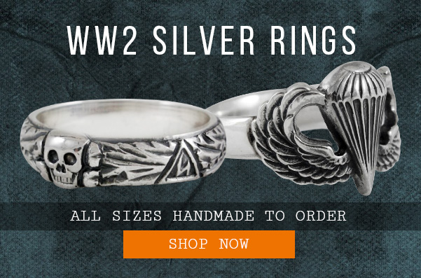 Epic Militaria WW2 Silver Rings