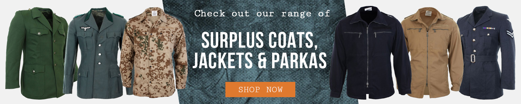 Epic Militaria Surplus Jackets, Coats & Parkas